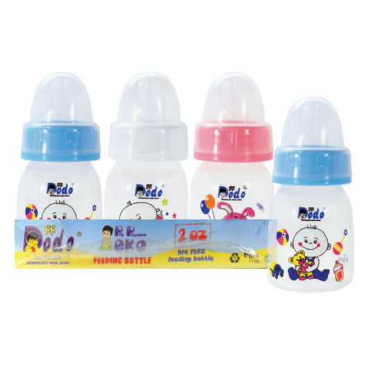 DODO Bottle PP Eko/ Botol Susu Bayi [2 OZ - 60ml]