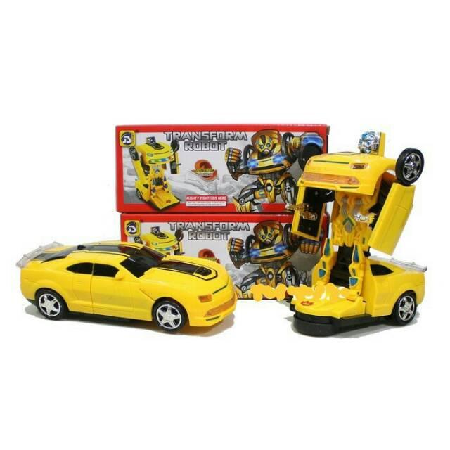 Mainan Anak Mobil Bisa Berubah Jadi Robot Batrei Murah Shopee Indonesia