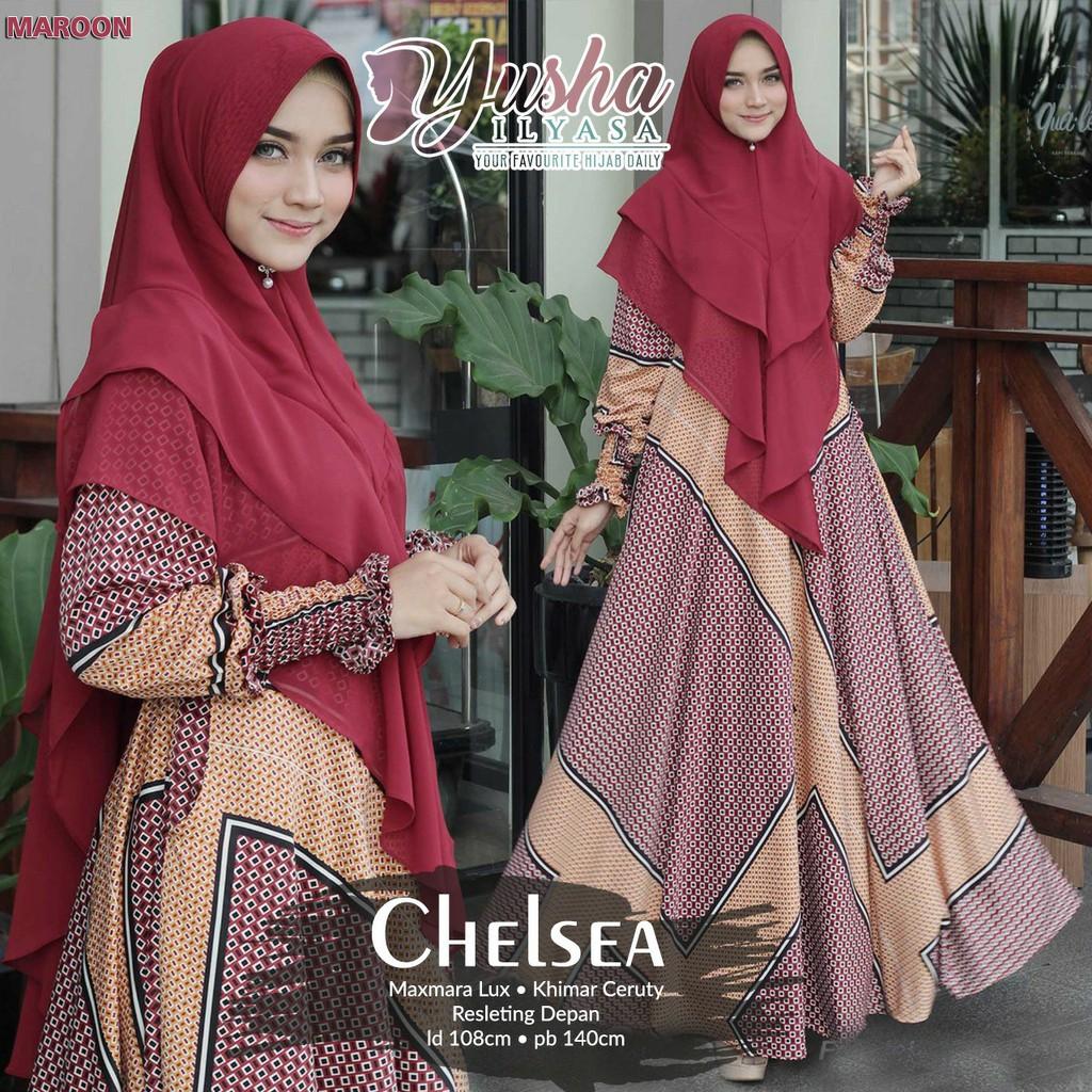 Chelsea Syari By Yusha Shopee Indonesia