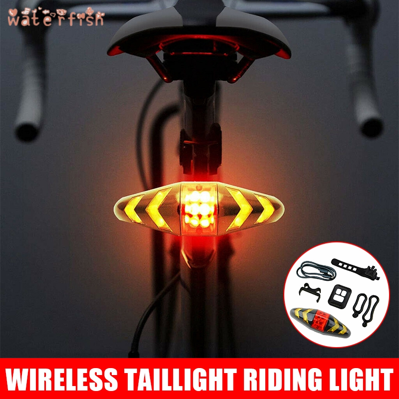 Lampu Led Indikator Sinyal Belok Belakang Sepeda Dengan