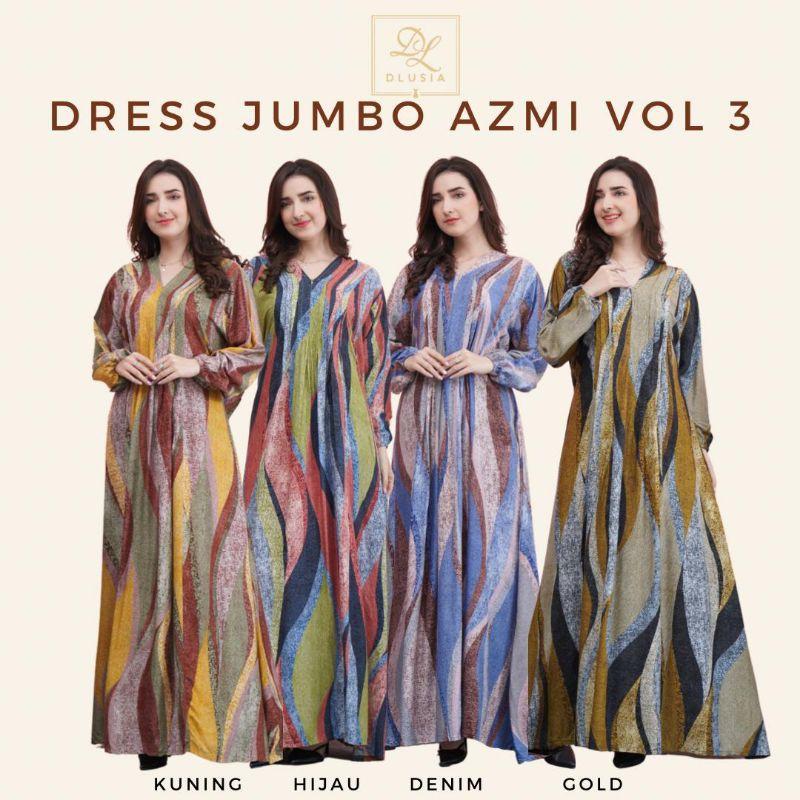 DRESS JUMBO AZMI VOL 3 BY DLUSIA ORI