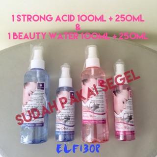 Strong Acid DAN Beauty Water SPRAY by Air Kangen Water 100ml + 250ml Original Asli Fresh OKE SEGEL