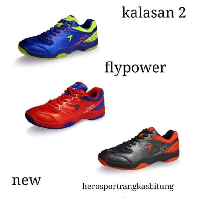 Sepatu Badminton Flypower Plaosan 2  ff98559828