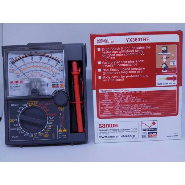 Sanwa YX-360TRF Multitester Analog multimeter yx3600trf Made in Japan