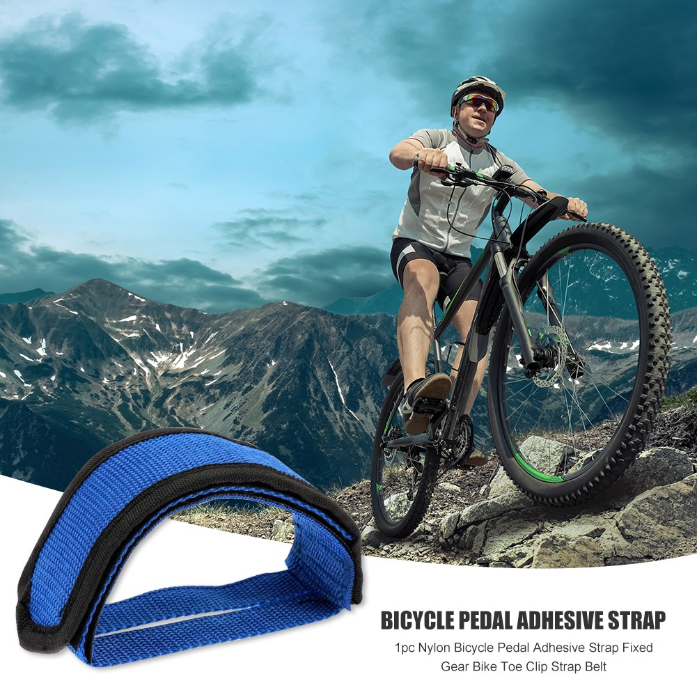 Durable Cycling Mountain Bike Bicycle MTB Pedal Toe Clip Strap Belts Tools Call