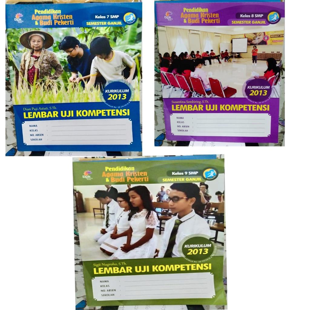 LKS-LUK Pendidikan Agama Kristen SMP Kelas 7 8 9 Kurikulum 2013 BPK Gunung Mulia
