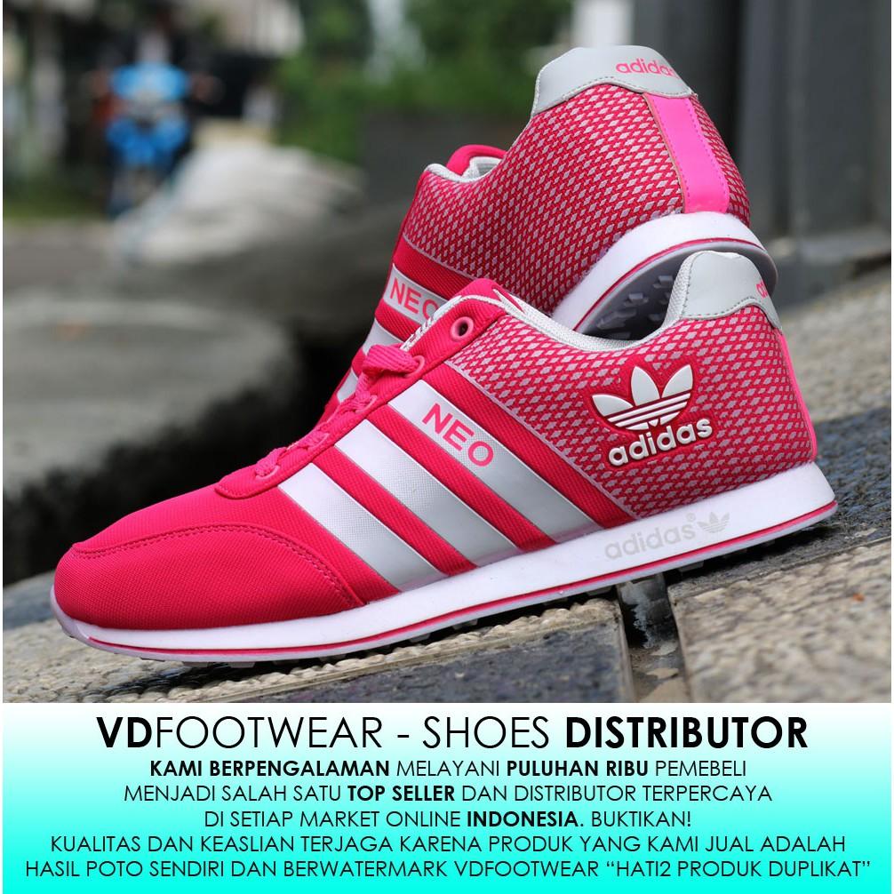 VD  IMPORT Sepatu Adidas Women Sepatu Olahraga wanita Kets Sneakers  Running Senam Jogging Lari  dfee42d034