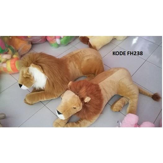 Scary Squeeze Stuffed Animals, Boneka Singa Aslan Arema Lucu Shopee Indonesia