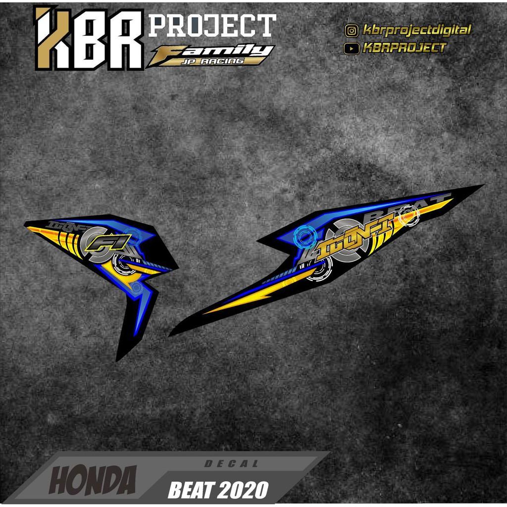 Cod Beat Deluxe 2020 Stiker Motor Sticker Striping List Variasi Beat 2020 Striping Grafis Full Shopee Indonesia