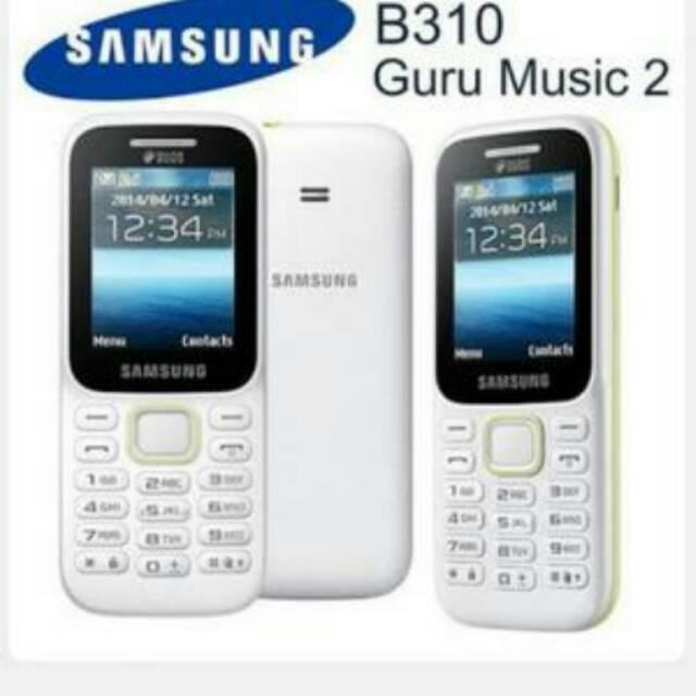 SAMSUNG PITON B310 GURU MUSIC 2 DUAL SIM (SM-B310E) GARANSI SEIN | Shopee Indonesia