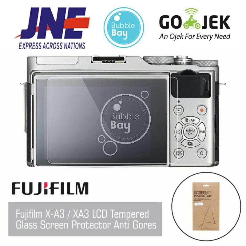 FUJIFILM X A3 XA3 LCD Tempered Glass Screen Protector Anti Gores TerMurah   Shopee Indonesia