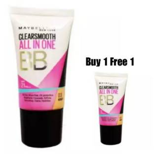 Maybelline Clearsmooth All In One BB Cream - 03 Honey [18 mL] Beli 1 Gratis 1 thumbnail