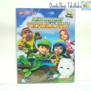 Boboiboy Galaxy Buku Seri Mewarnai Story Coloring Gratis Stiker Atau Topeng Shopee Indonesia