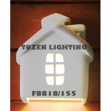 Lampu Dinding Kapur/Gypsum F8818/155