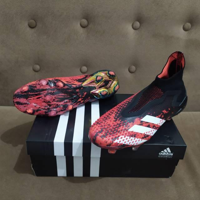 Sepatu Bola Adidas Predator Mutator 20 Fg Core Black Active Red