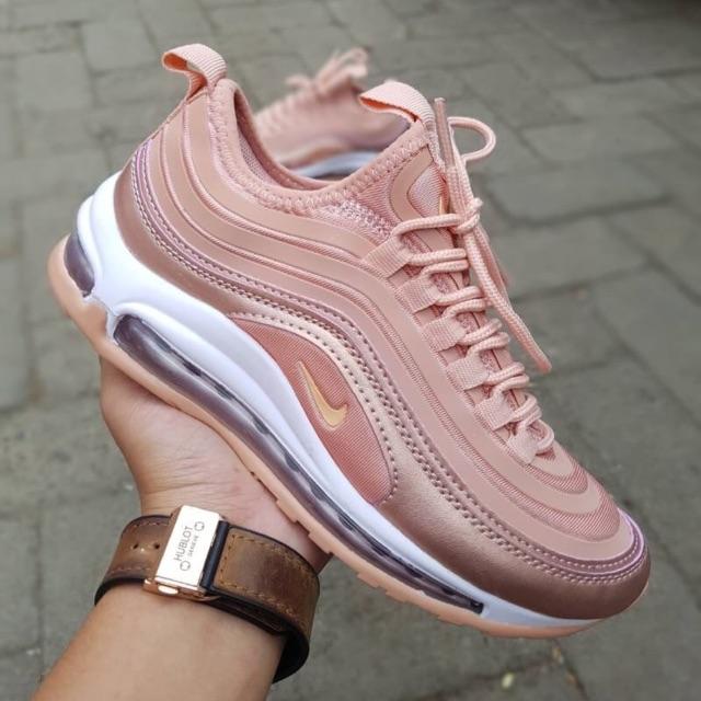 Sepatu Cewek Nike Air Max 97 Rose Gold Shopee Indonesia