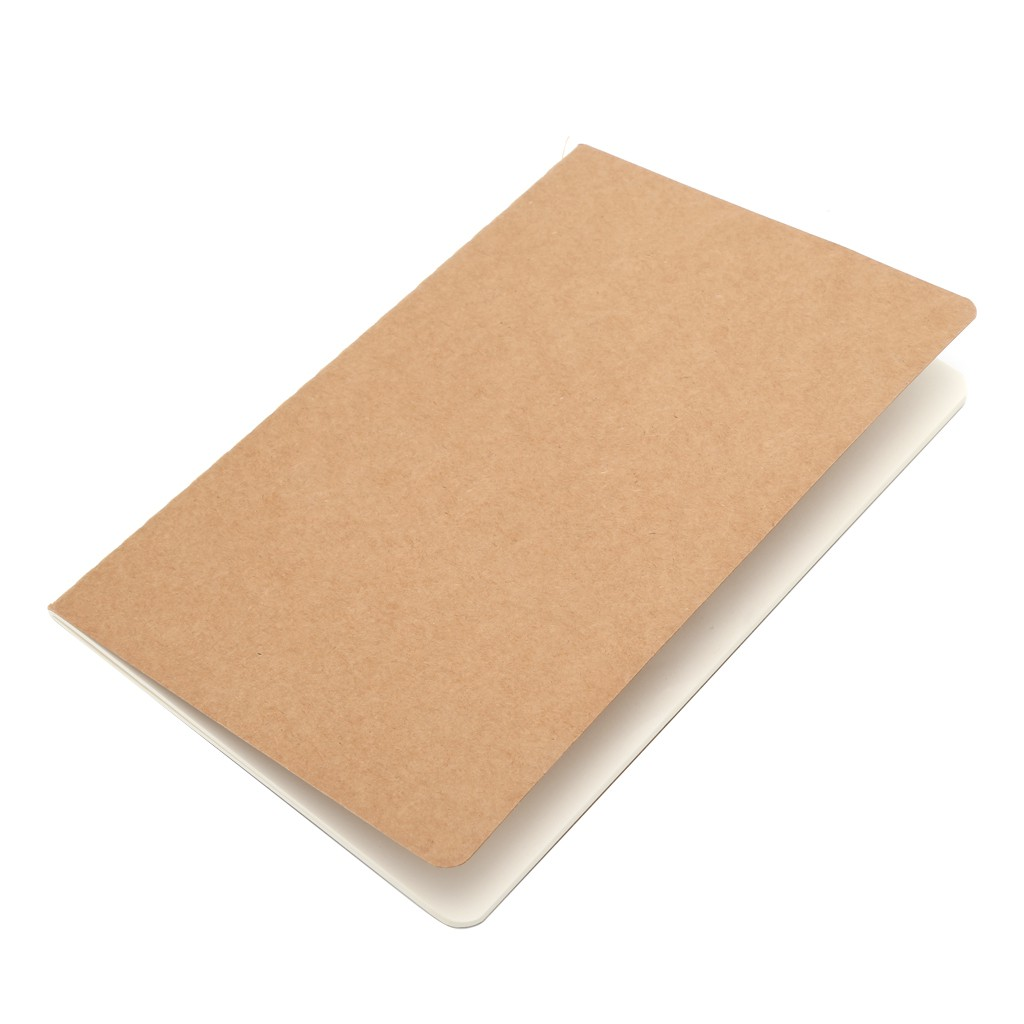 A5 Kraft Paper Journal Diary Note Book Blank Page Stationery