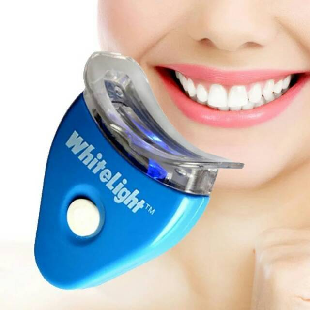 Aimons White Light Pemutih Gigi Tooth Whitening System Shopee