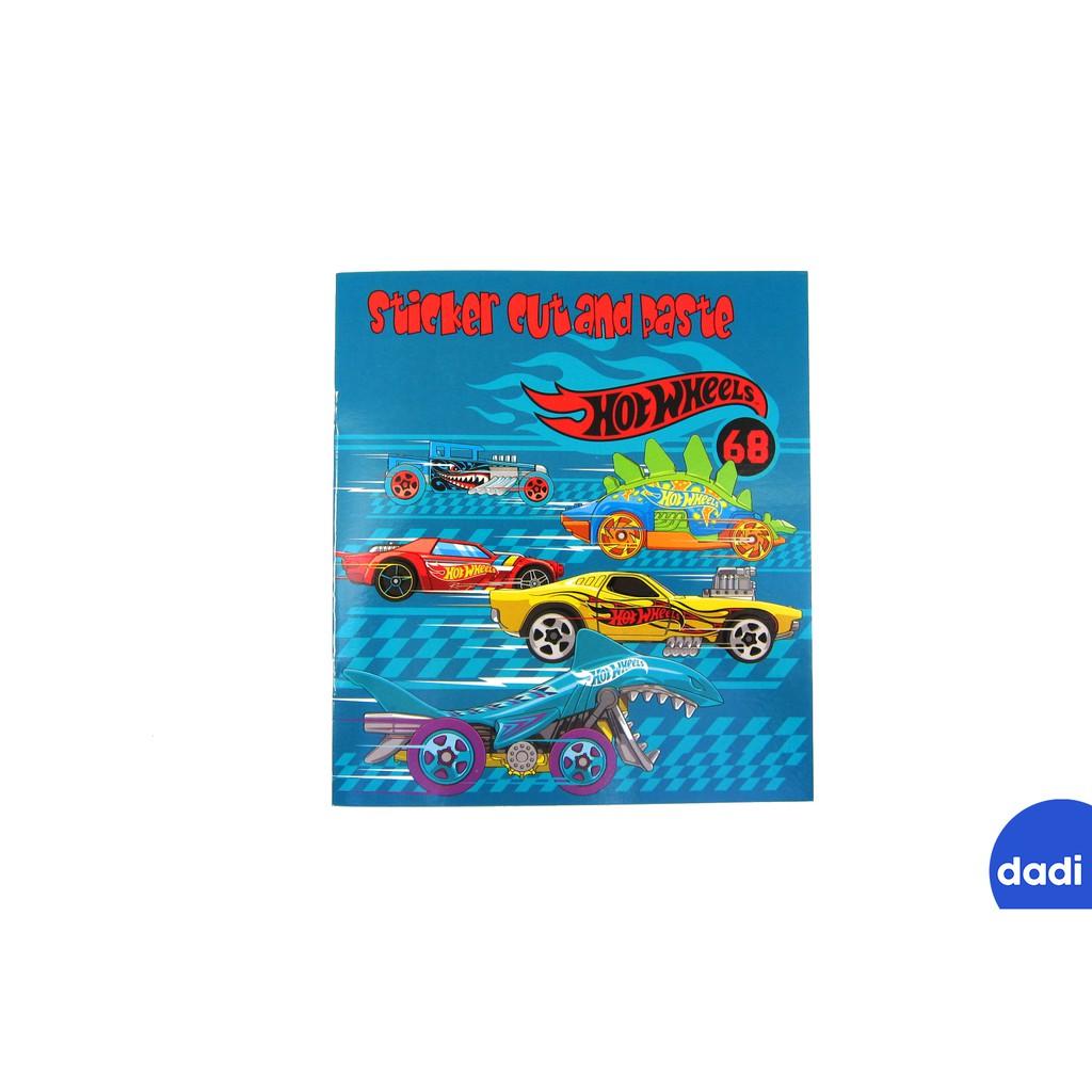 Dadi Hot Wheels Colong Book S Buku Mewarnai Dan Stiker Hot Wheels Shopee Indonesia