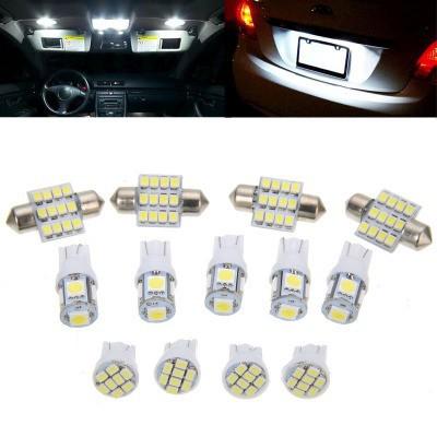 2pcs White 5630 6-SMD 6000K T10 Car Light LED Lights W5W 147,152,158 159,161 ect | Shopee Indonesia