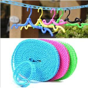 harga Tali Jemuran 5 Meter Clothes Line Laundry Baju JEMURAN Shopee.co.id