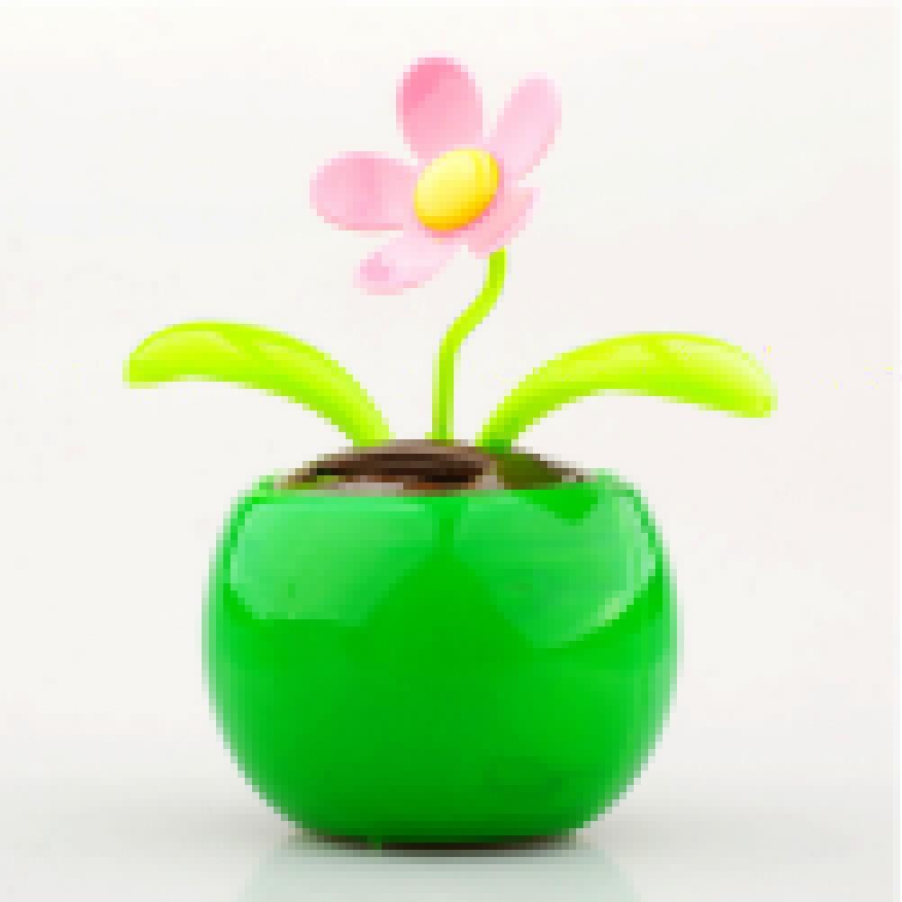 f86d1d7d77f8 Pot Bunga   Tanaman dengan Model Flip Flap dan Daya Tenaga Surya untuk  Dekorasi Rumah   Mobil