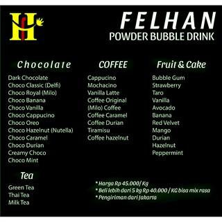 (1 kg) Bubuk Minuman Rasa/ Powder Drink / Bubble Drink   Shopee Indonesia