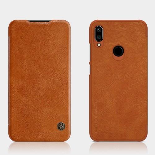 Leather Flip Case Xiaomi Redmi Note 7 - Nillkin Qin Premium Ori