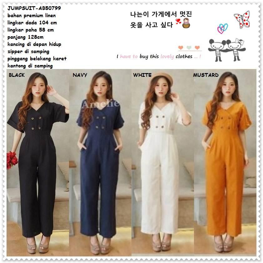 5bdee57d0c Overall Mini Dress Kodok Jumpsuit Jumsuit Wanita Korea Import AB50816