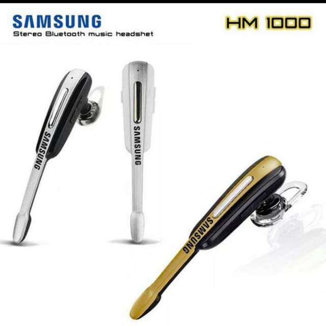 Headset Samsung Hm 1000 Headset Bluetooth Samsung Hedset Samsung Shopee Indonesia