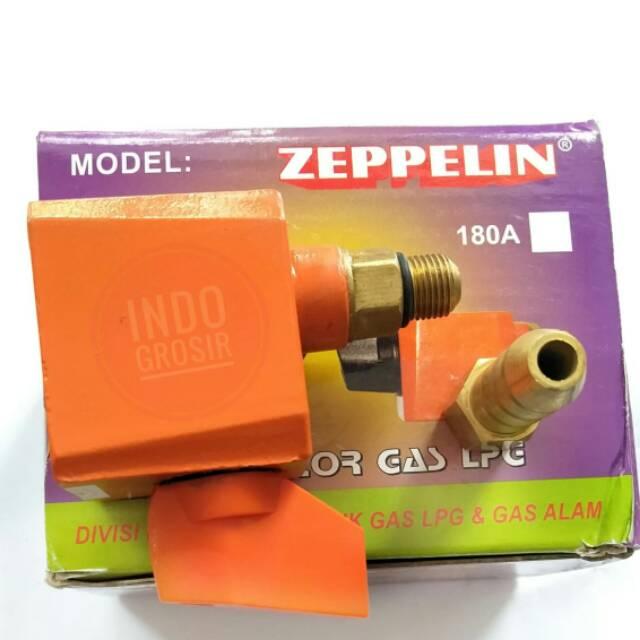 Zeppelin Regulator Kopling Plus Nepel Regulator Tekanan Tinggi High Pressure Berkualitas