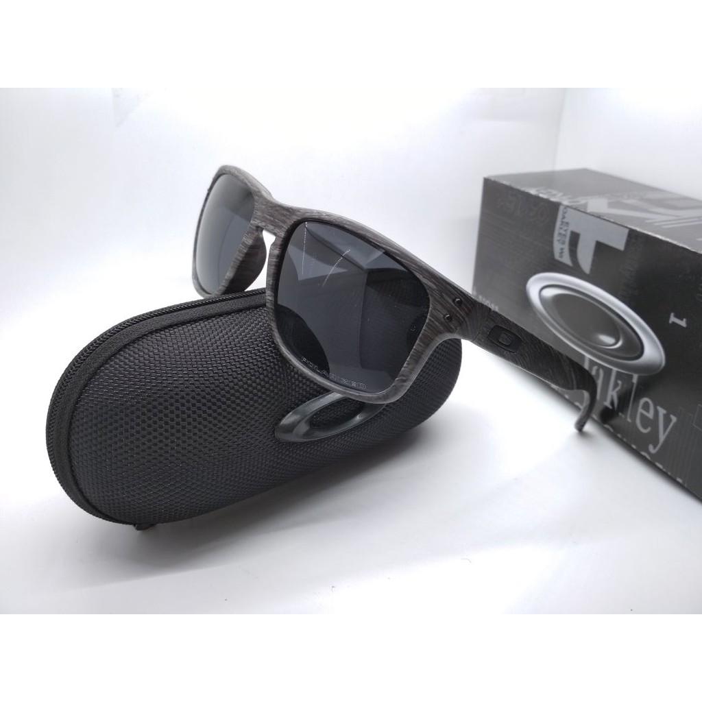 2aaf97b1b9 Kacamata O Tailpin frame hitam lensa polarized Full Set
