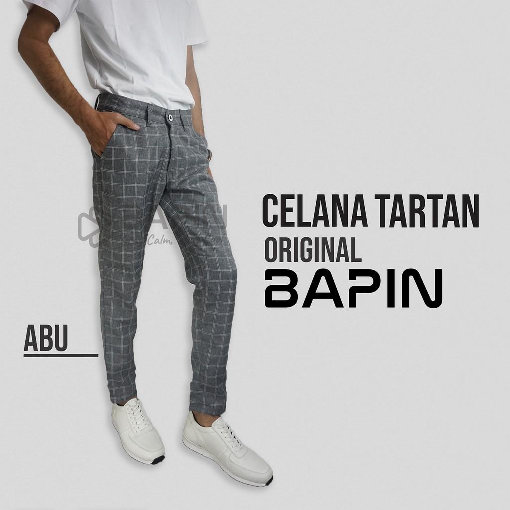 Celana Tartan Original BAPIN