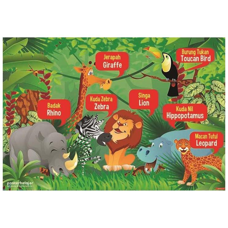 72 Gambar Tema Binatang Untuk Anak Paud HD Terbaik