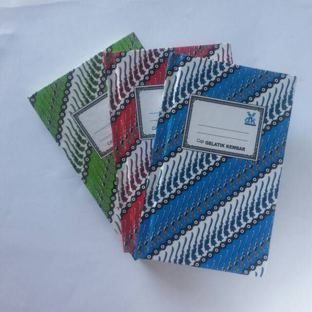Buku Batik Oktavo Kecil Isi 100 Lembar Shopee Indonesia