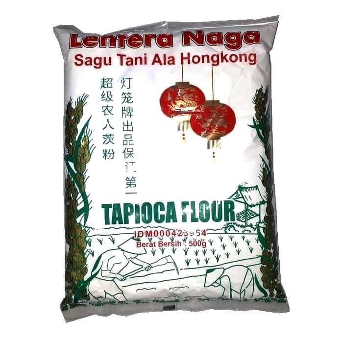 Tepung Sagu Tani Lentera Naga Tapioca Flour 500g Shopee Indonesia