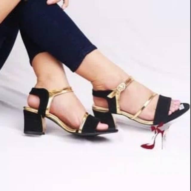 sepatu+gelang+sepatu+wanita+basic+heels - Temukan Harga dan Penawaran
