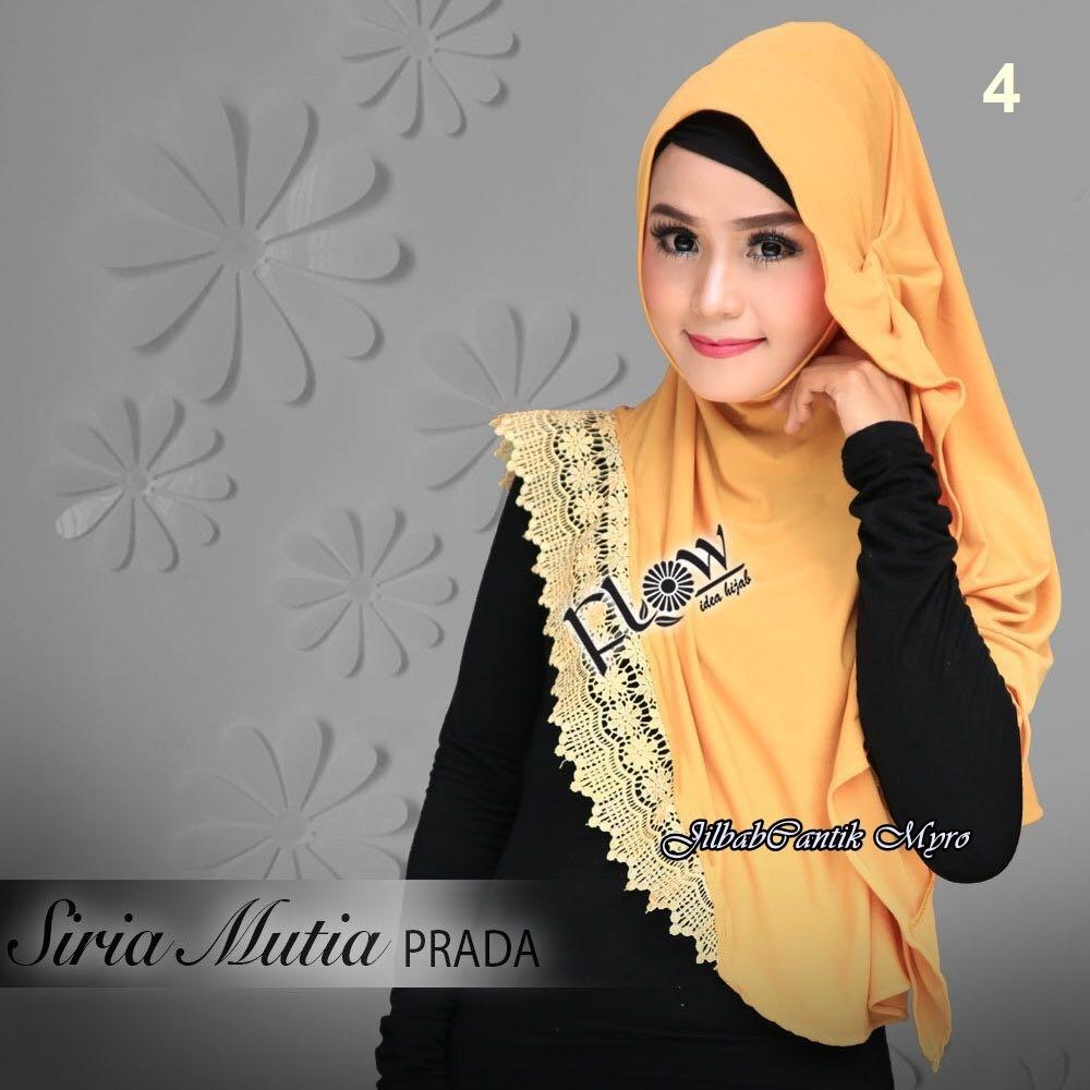 Jilbab Syria Mutia Prada Original By Flow Idea Shopee Indonesia Jilba Siria