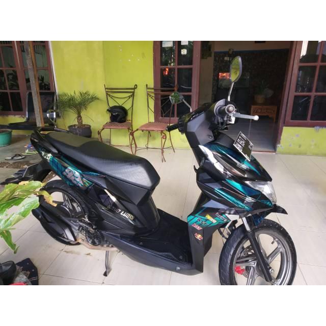 Full Chrome Honda Beat All Tipe Decal Stiker Keren Murah Shopee Indonesia
