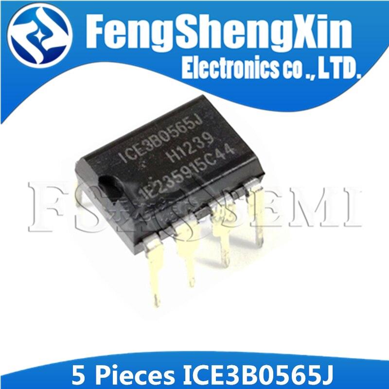 5pcs Ic Ic-Line Smps 3b0565j Dip8 Ice3B0565 Dip 3b0565 Dip-8 Dengan Mode Pengendali Arus
