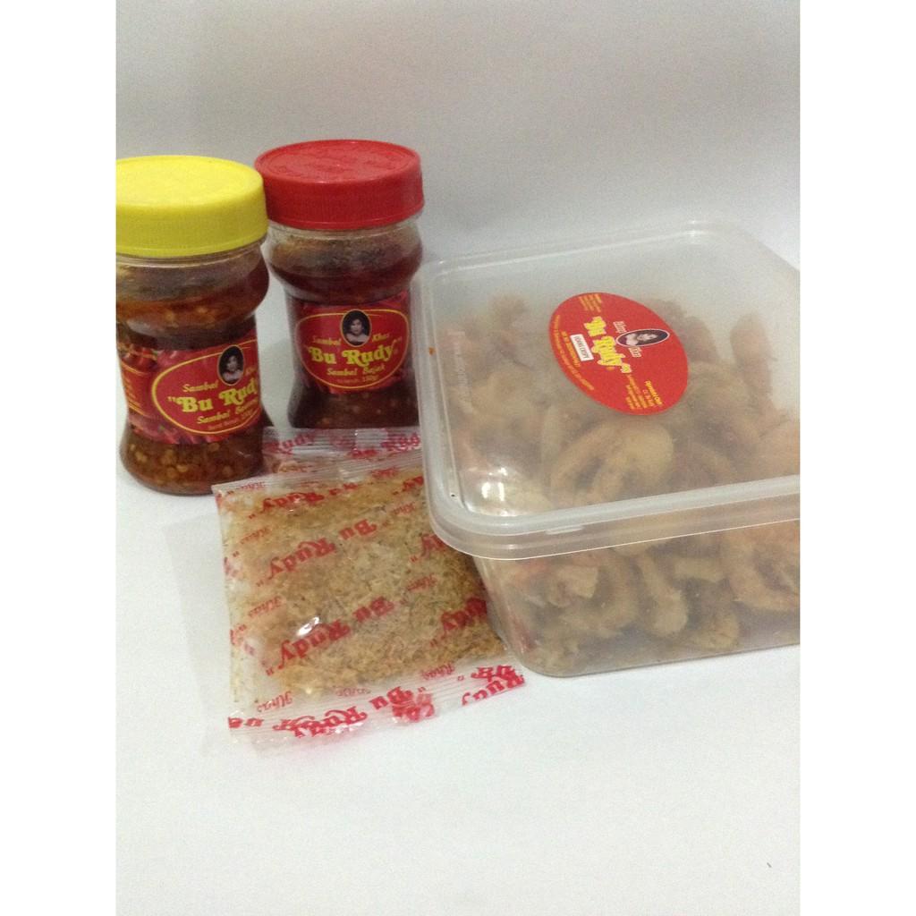 Paket Sambal Bawang Dan Udang Crispy Bu Rudy Kemasan Kecil Little Dragon 2 Botol Shopee Indonesia