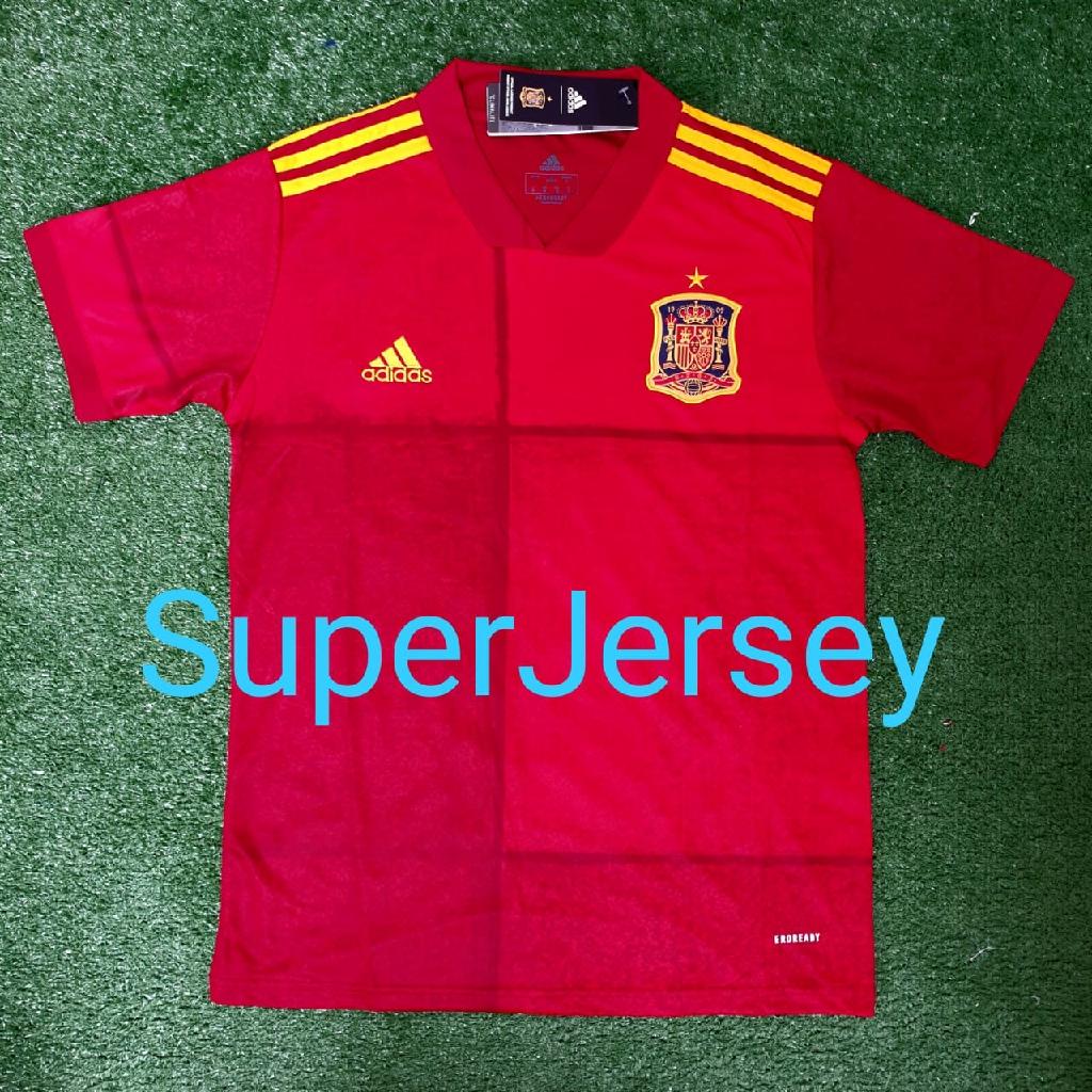 Jersey Grade Ori Spain Home EURO 2020 Spanyol Home ...