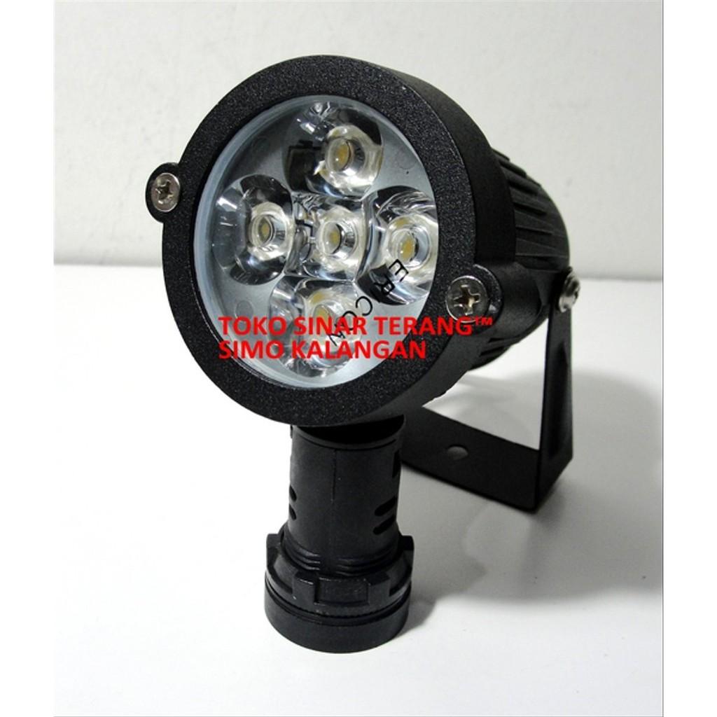 Lampu Sorot Taman Led 5w Kuning Warm White Spotlight Bulat 5x1 Watt Outdoor Murah Limited Limited Shopee Indonesia