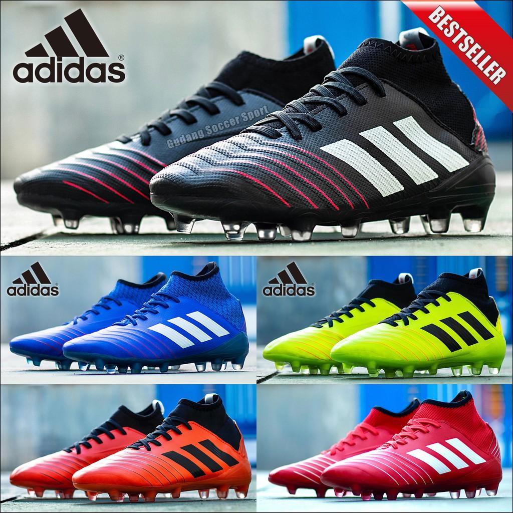 Sepatu Bola Adidas Predator 19 1 Fg Shopee Indonesia