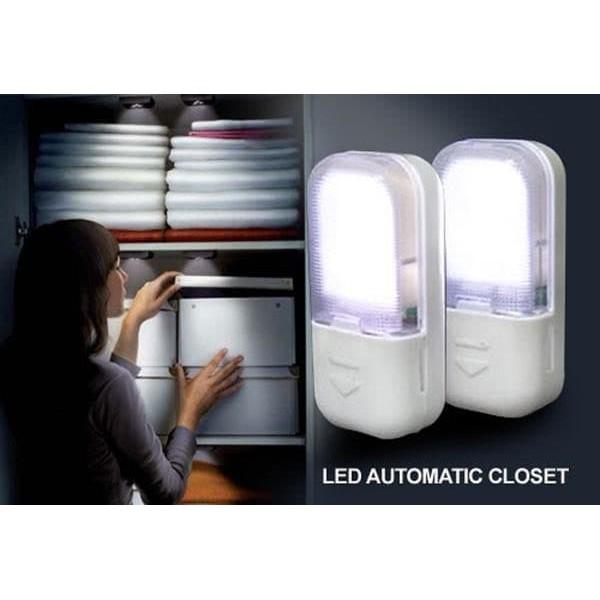 [SENSOR] LAMPU LEMARI SENSOR OTOMATIS / LAMPU LEMARI LED OTOMATIS / LED AUTOMATIC CLOSET   Shopee Indonesia