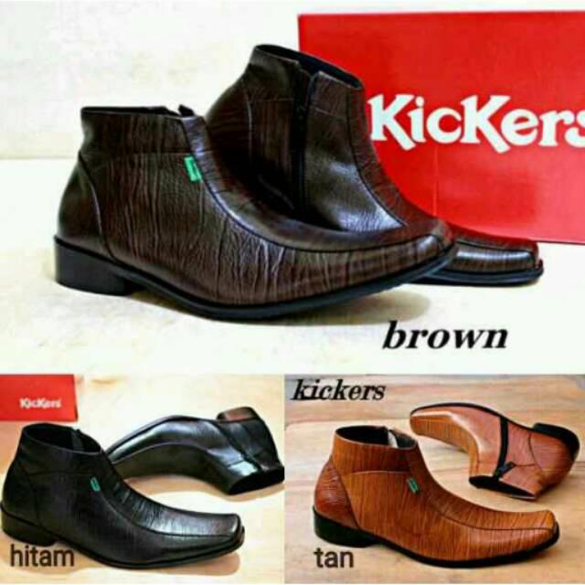 pantofel kulit pria distro kualitas premium sepatu kulit pria pansus pria  sepatu formal cowok 0012G  606ba8a0d7