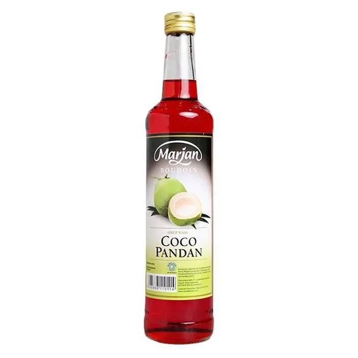 Sirup Marjan Cocopandan 460ml 1 Dus isi 12 Botol