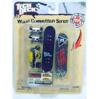 Fingerboard Tech Deck Wooden Series Techdeck Finger Board Shopee Indonesia