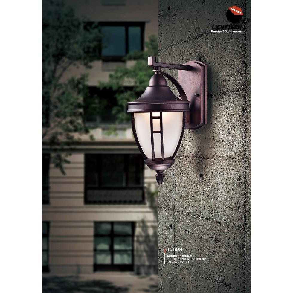 L1051 lampu dinding hias taman e27 waterproof wall lamp outdoor | Shopee Indonesia