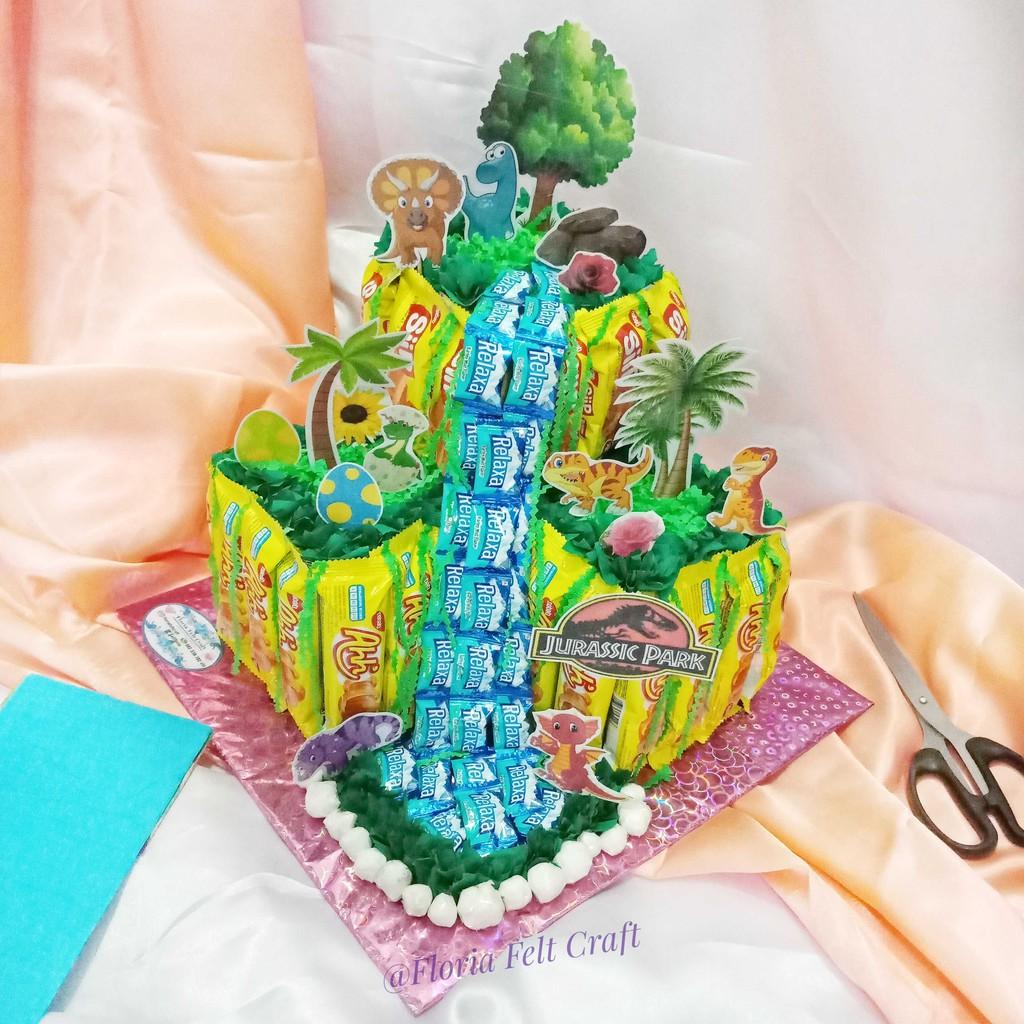 Snack Tart/ Snack Cake / Kue Ulang Tahun / Snack Tower / Buket Snack
